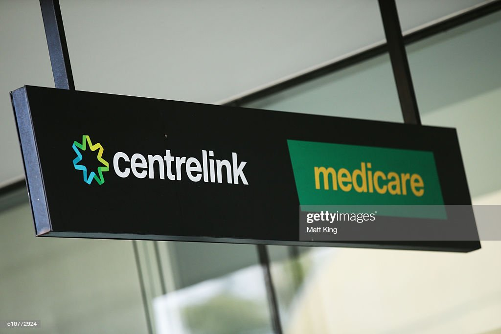 Government services affected as public sector workers strike a medicare and centrelink office sign is seen at bondi junction on march 21 2016 ccuart Images