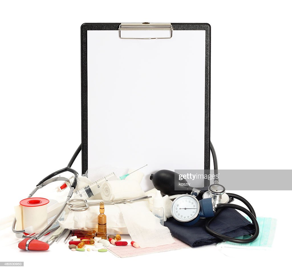 Medicine background : Stock Photo