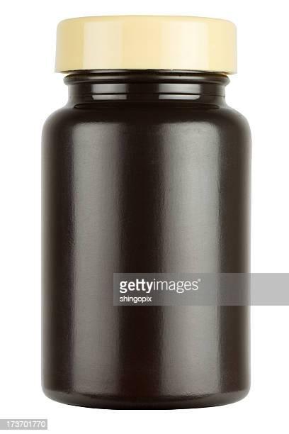Botella de medicina