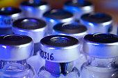 Medicine Glass Ampoules, empty insulin