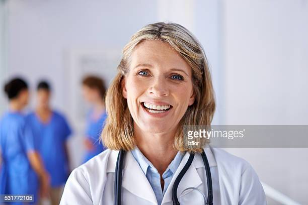 Medicine is her passion