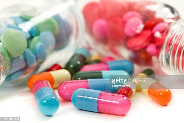 Tablettes de médecine