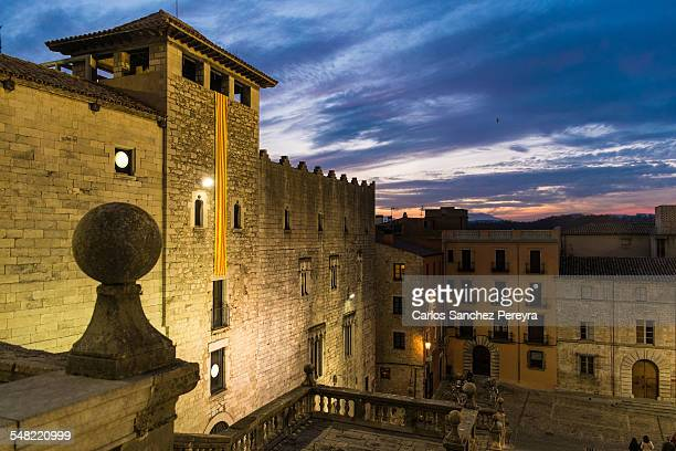 Medieval architecture in Girona, Catalonia