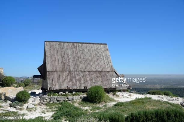 Medieval Battering Ram Les Baux-de-Provence