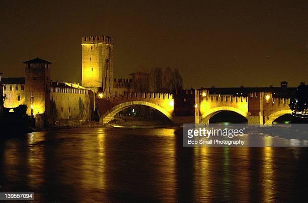 Medieval bridge in Verona