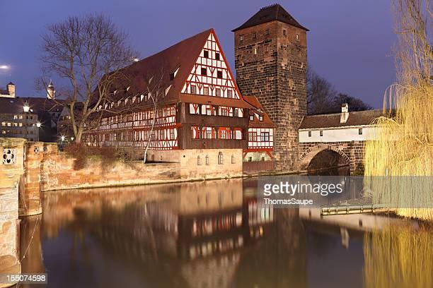 Medieval buildings in Nuremberg