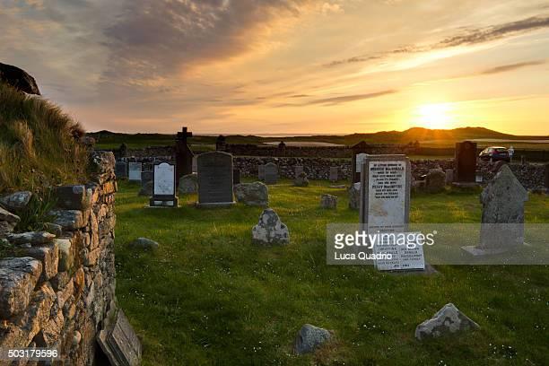 Medieval burial ground