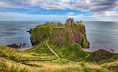 Medieval fortress Dunnottar Castle (Aberdeenshire, Scotland) - HDR image