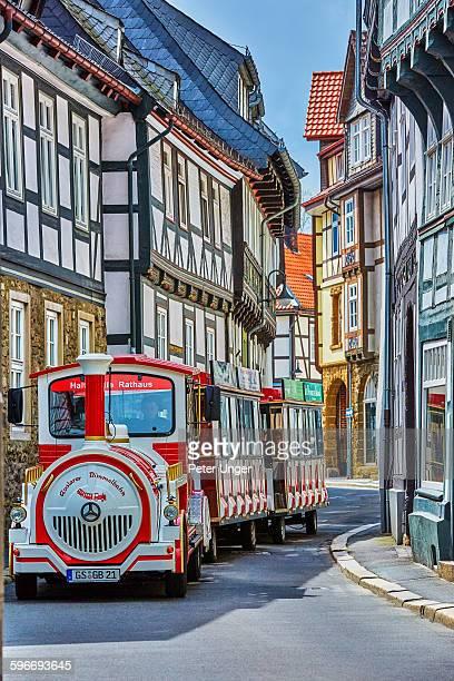Medieval German Laneways and historic houses