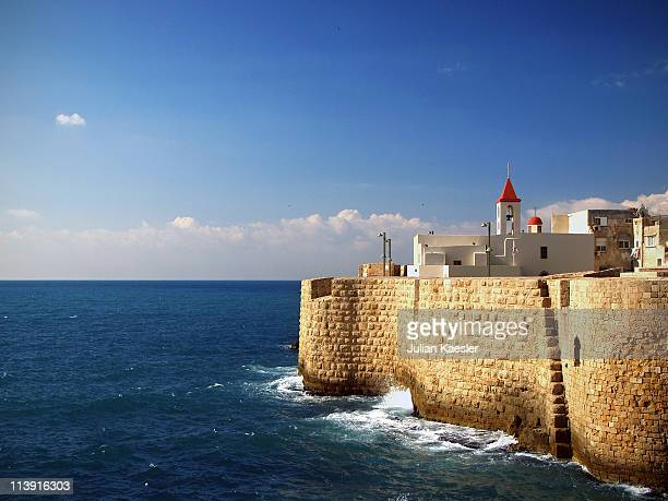 Medieval harbour of Akko, Israel