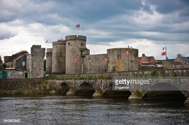 Medieval Ireland. King John Castle. Limerick