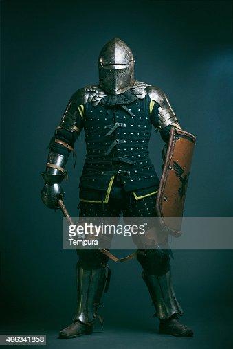Medieval de Cavaleiro Medieval forma de luta contra o desporto.