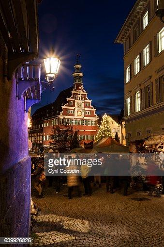 medieval markt in esslingen photo getty images. Black Bedroom Furniture Sets. Home Design Ideas