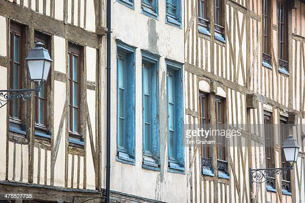 Medieval Timber Architecture at Troyes, France