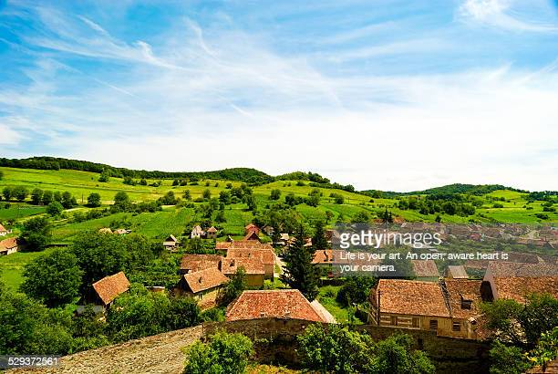 Medieval town in the countryside