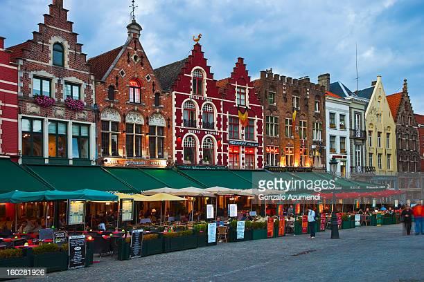 Medieval town of Bruges.