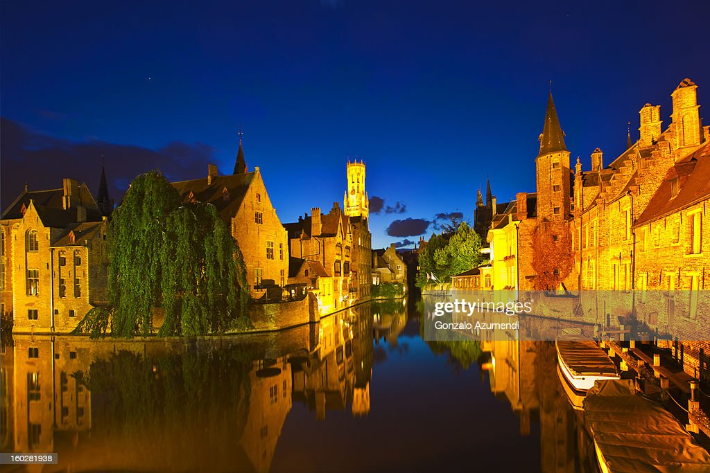 Medieval town of Bruges. : Stock Photo