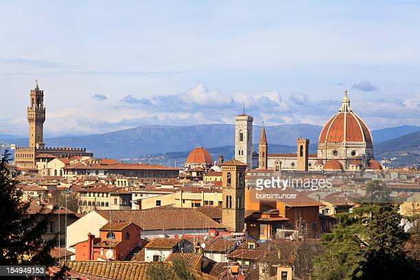 Medieval town of Florence with Duomo, Italy