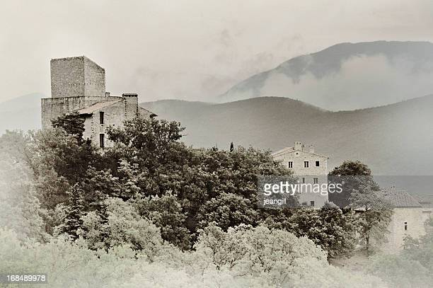 Medieval village Provence, France
