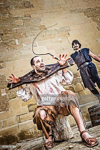 Medieval whipping torture