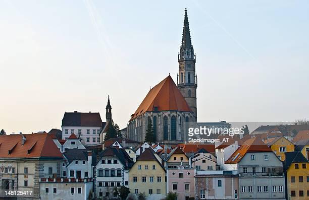 Medievil Stadtansicht von Steyr, Oberösterreich
