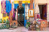 Medina District of Essaouira in Morocco