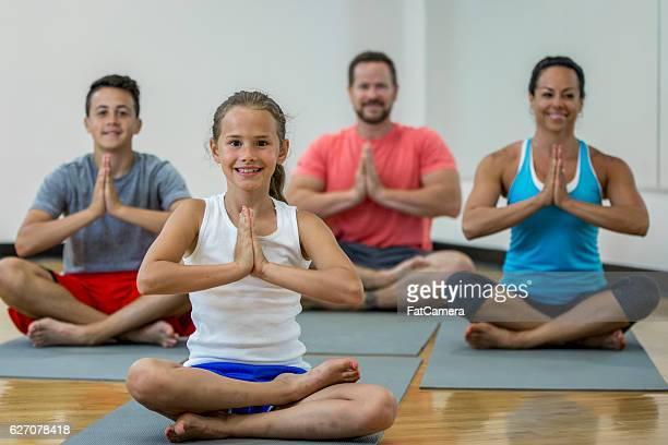 Meditating at the Gym