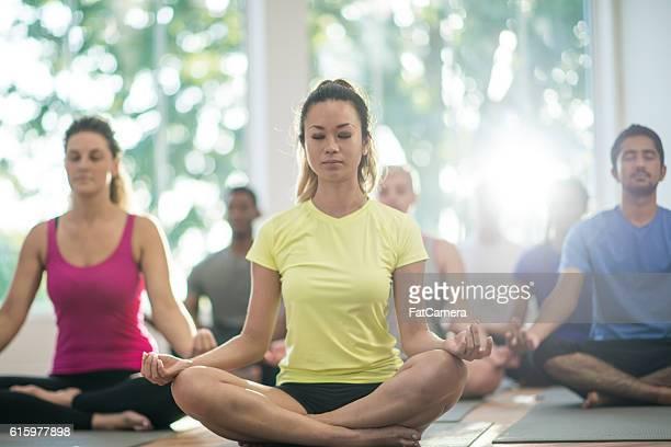 Meditating Silently