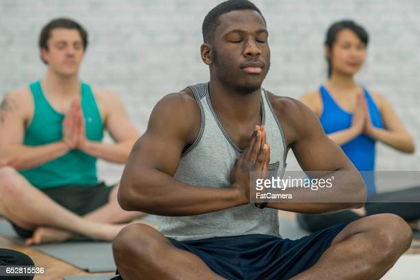 Meditating Together in Yoga