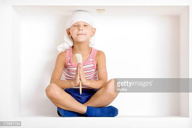 Meditation for decoration