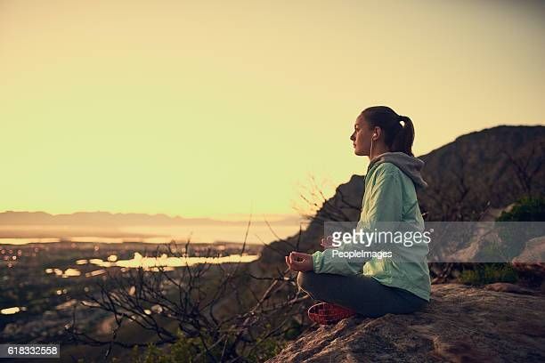 Meditation with a view