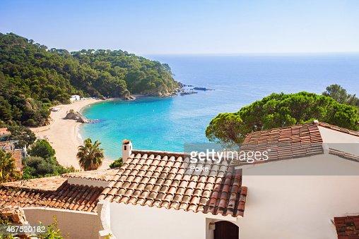Mediterranean coast : Stock Photo
