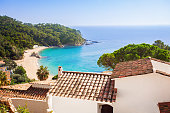 Mediterranean coast, Costa Brava, Spain