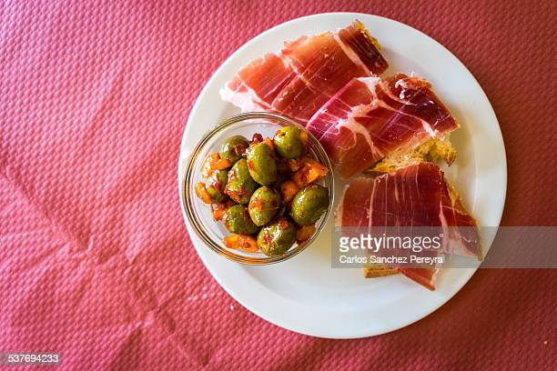 Iberian peninsula stock photos and pictures getty images for Andalusia cuisine