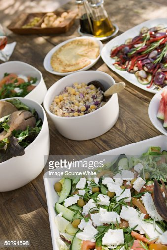 Mediterranean food : Stock-Foto