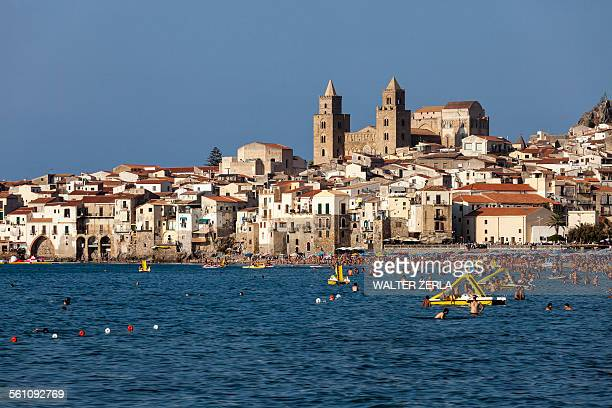 Mediterranean sea, Cefalu, Palermo, Sicily, Italy