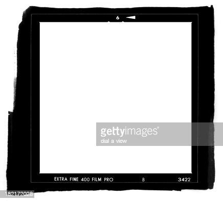 Medium Format Contact Print (HI-RES)