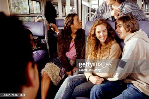 Medium group of people travelling
