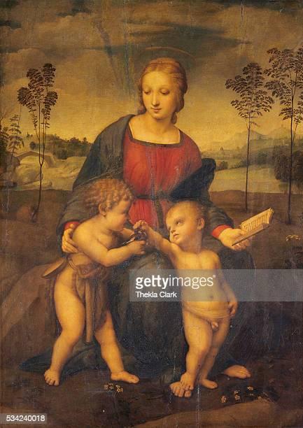 oil on panel|Dimensions 107 x 77 cm|Creation date 1506|Located in Uffizi Gallery|Located in Galleria degli Uffizi Florence Italy|