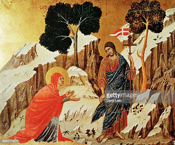 Tempera on wood|Creation date 13081311|Located in Museo dell'Opera del Duomo Siena Italy|