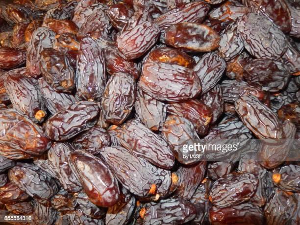 Medjool dates at the market