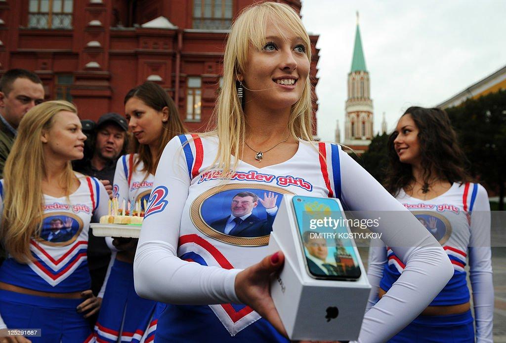 Medvedev Girls Take on Putin's Army