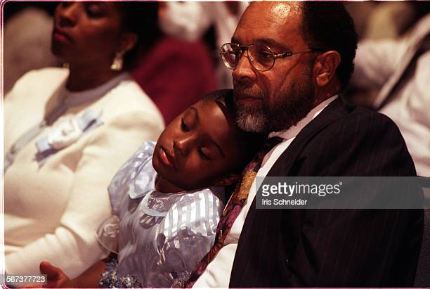 MEEaster40330ISThris Van Taylor with his daughter Tamara Vanessa Taylor at the Resurrection Sunday combined service of Faithful Central MBC and...