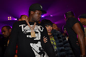Meek Mill and Nicki Minaj perform at the Best Ever After Party Hosted By Yo Gotti And Fabolous at Webster Hall on February 15 in New York New York
