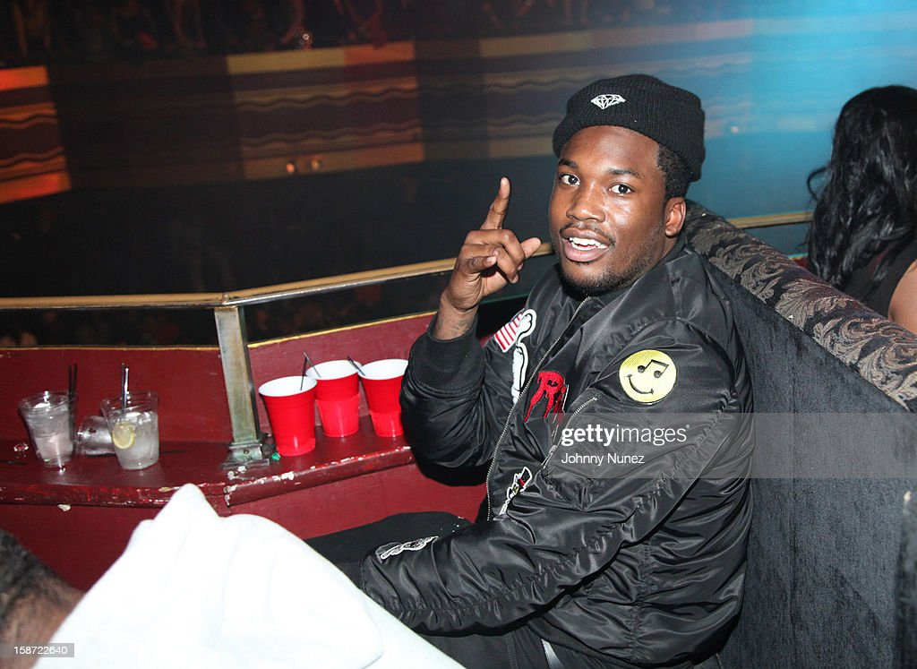 Meek Mill attends Nicki Minaj's Christmas Extravaganza at Webster Hall on December 25, 2012 in New York City.