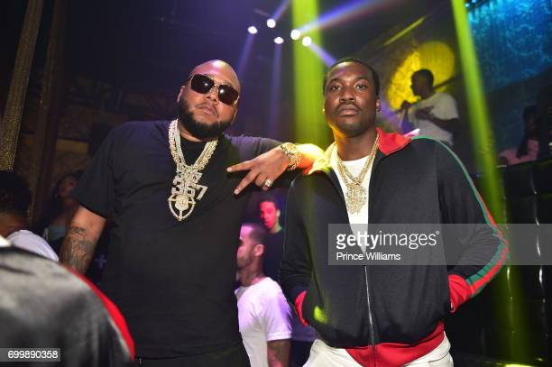 Meek Mill attends the Birthday Bash Weekend Finale Party at Medusa Lounge on June 19 2017 in Atlanta Georgia