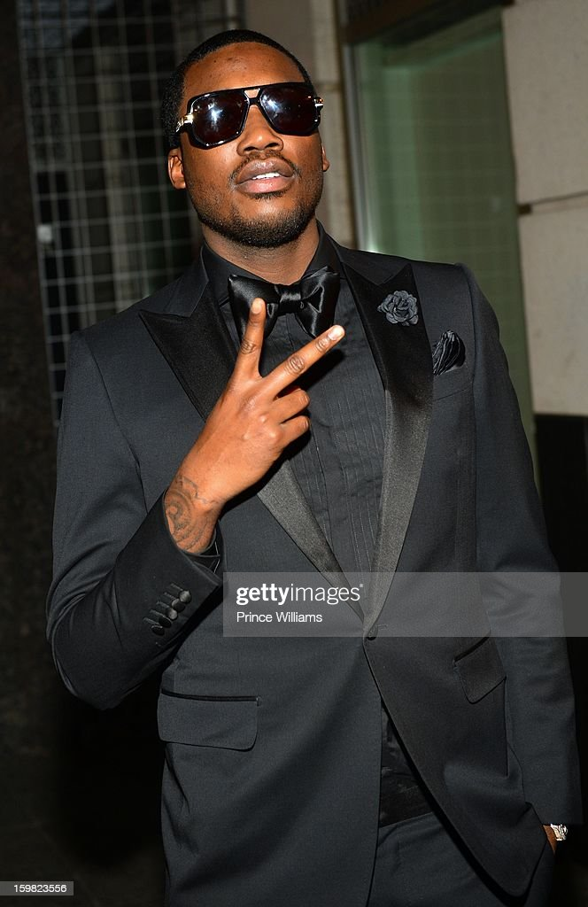 <a gi-track='captionPersonalityLinkClicked' href=/galleries/search?phrase=Meek+Mill&family=editorial&specificpeople=7187702 ng-click='$event.stopPropagation()'>Meek Mill</a> attends The Hip-Hop Inaugural Ball II at Harman Center for the Arts on January 20, 2013 in Washington, DC.