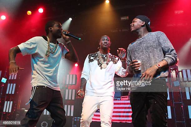 Meek Mill Future and YG perform in concert at Best Buy Theater on June 3 2014 in New York City