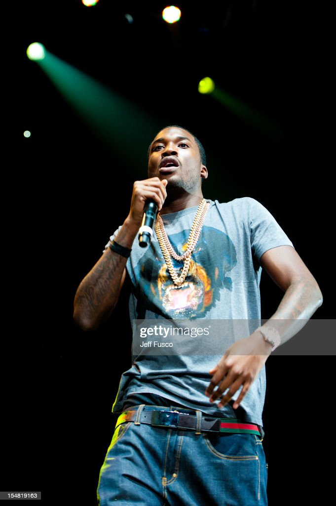 <a gi-track='captionPersonalityLinkClicked' href=/galleries/search?phrase=Meek+Mill&family=editorial&specificpeople=7187702 ng-click='$event.stopPropagation()'>Meek Mill</a> performs at the Power 99 Powerhouse concert at the Wells Fargo Center on October 26, 2012 in Philadelphia, Pennsylvania.