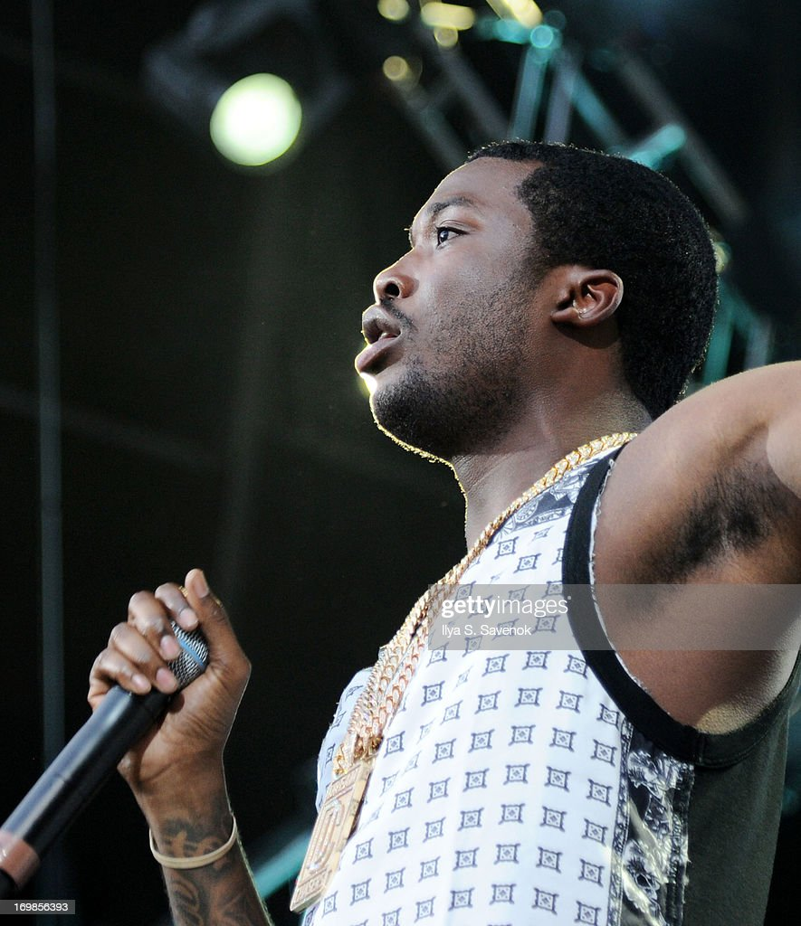 Meek Mill performs during HOT 97 Summer Jam XX at MetLife Stadium on June 2, 2013 in East Rutherford, New Jersey.